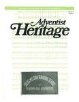 Adventist Heritage - Vol. 15, No. 1