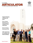LLUSD Articulator - Volume 27, Number 1 by Loma Linda University School of Dentistry and Kenneth Abramovitch