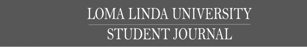Loma Linda University Student Journal