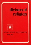 1974 - 1975 Bulletin by Loma Linda University