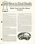 #01 - What You Can Do About Cancer by Department of Health Education