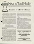 #59 - Secrets of Effective Prayer