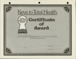 #62 - Certificate of Award (Detached)