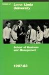 1987 - 1988 Bulletin