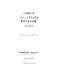 2006 - 2007 University Catalog