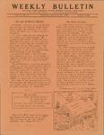 Weekly Bulletin - Vol. 1, No. 05